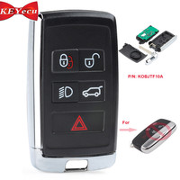 KEYECU Updated Smart Remote Car Key Fob for Land Rover LR2 LR4 2012 2015,Range Rover Evoque /Sport 315MHz/433MHz ID46