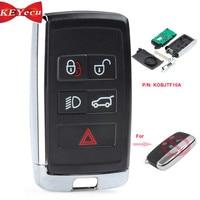 KEYECU for Land Rover LR2 LR4 2012 2015,Range Rover Evoque /Sport Updated Smart Remote Car Key Fob315MHz/433MHz KOBJTF10A