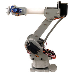 Fully Assembled 6-Axis Servo Control Palletizing Robot Arm Model For Arduino #
