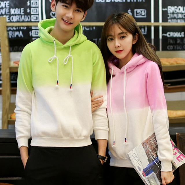 681c7b786 Autumn Winter Fashion Couple Clothes Hooded Sweatshirts Casual Letters  Printed Hoodies Outwear Tops LL2