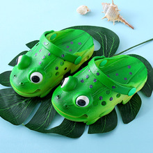 3D Simulation Frog Toddler Baby Slippers Indoor for Kids Super Soft Anti-skid Design of Sole Animal Flats baby 1-2Y
