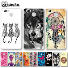 AKABEILA Soft TPU Phone Cases For Huawei Ascend G8 mini Huawei GR3 Enjoy 5S honor 5S TAG-L01 TAG-L03 Cover Nutella Bags(China)