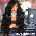Lace Front Human Hair Wigs 180% Density Indian Full Lace Human Hair Wigs Virgin Lace Front Wig With Baby Hair For Black Women