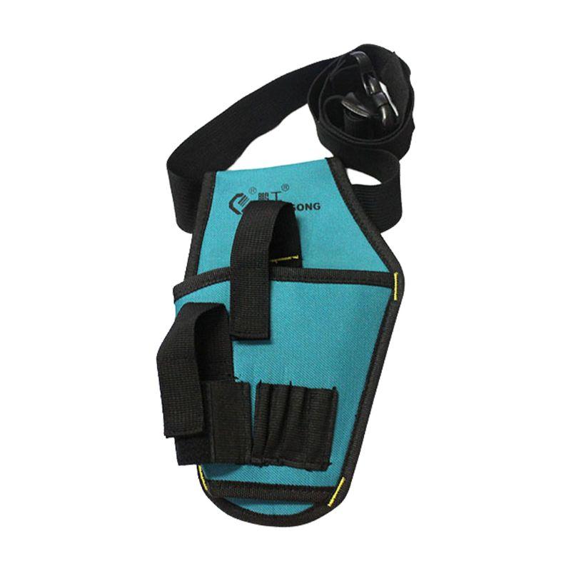 Hardware Toolkit Mechanics Waist Bag Waterproof Oxford Cloth Multi Organize Pockets Storage Pouch Electrician Worker Accessory
