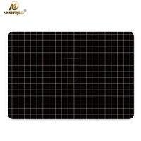 Mimiatrend黒格子ラップトップステッカービニールフィルム用アップルmacbook airプロ網膜11 13 15インチデカールフルケースステッカースキン