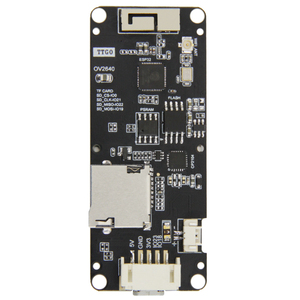 Image 4 - TTGO T Kamera Artı ESP32 DOWDQ6 8MB SPRAM Kamera Modülü OV2640 1.3 Inç Ekran Arka Kamera