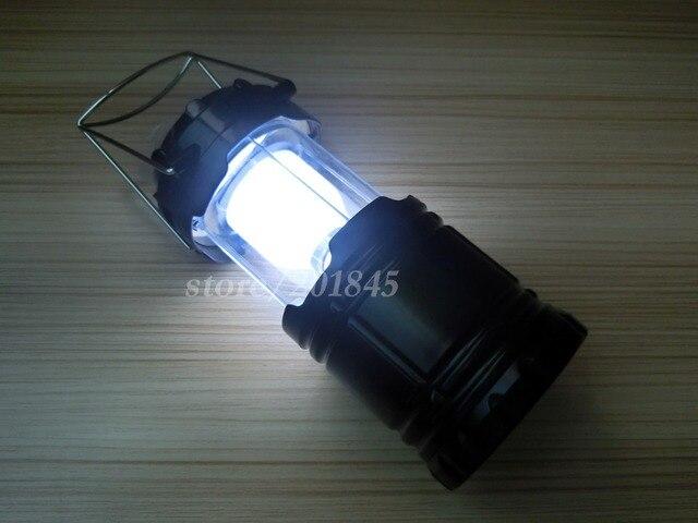 2 Pcs Destaque Lanterna de Acampamento Ao Ar Livre do Diodo Emissor de Luz Para A Pesca Dobrável Emergências Furacões Quedas de Luz Dobrável