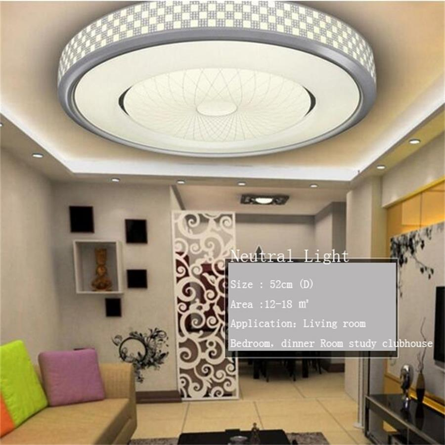 48W 60W 76W 124W light fixtures LED Ceiling Light Living room Aisle Corridor lamp 220V dimmable round Acrylic Led ceiling Lamp japanese style tatami floor lamp aisle lights entrance corridor lights wood ceiling fixtures tatami wood ceiling aisle promotion