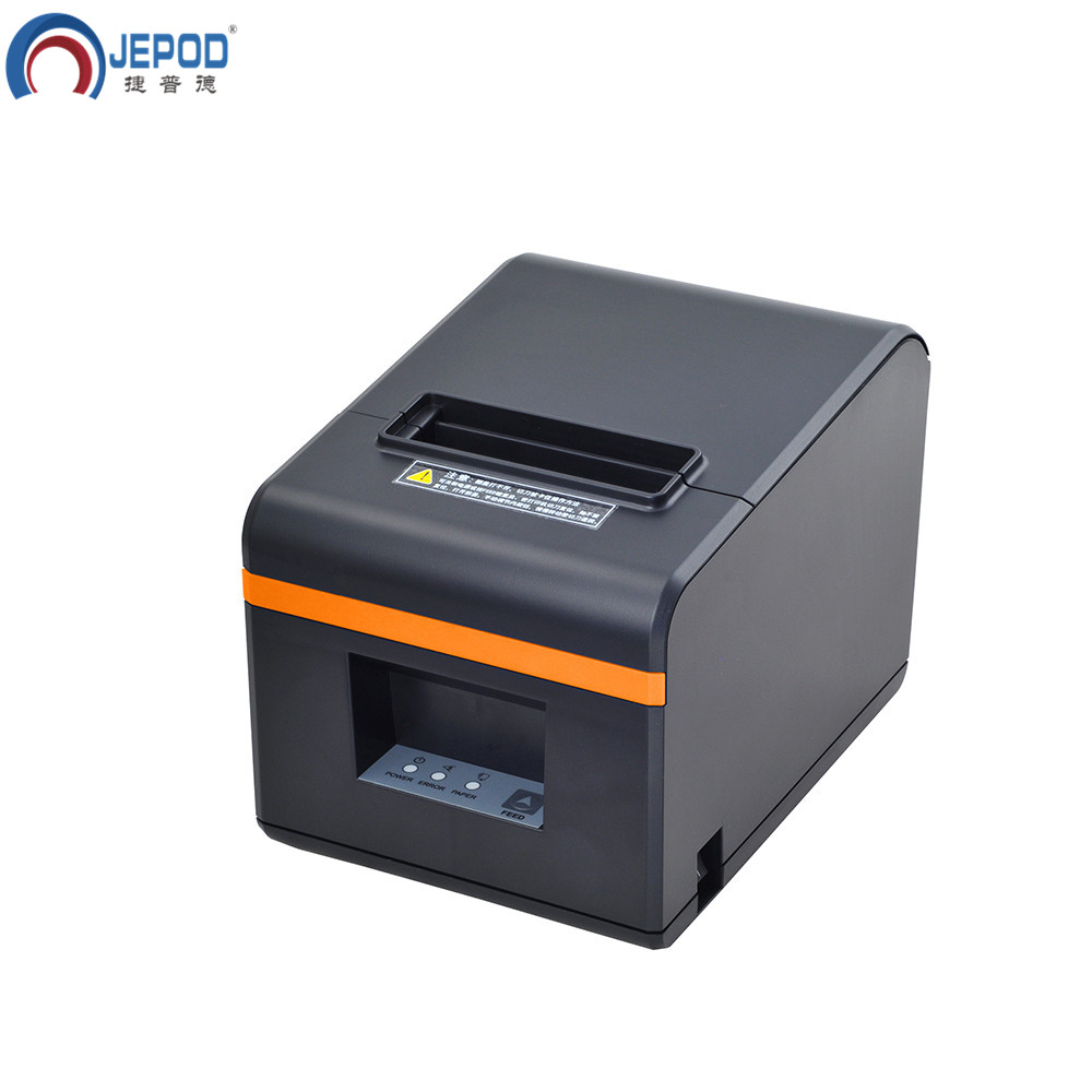 JEPOD XP N160II nuovo arrivato 80 millimetri taglierina automatica stampante di ricevute POS stampante USB/LAN/USB + Bluetooth porte per il Latte negozio di tè - 2