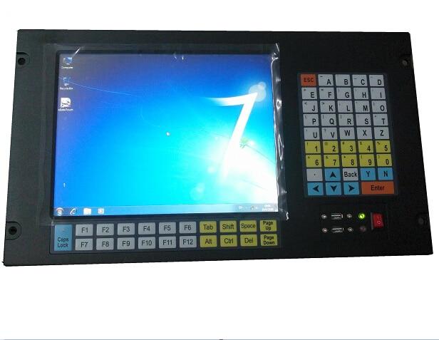 6U Rack Mount Industrial Computer, 12.1 inch LCD, Core i3-3217U CPU, 4GB RAM,500GB HDD, rack mount HMI, touch panel pc