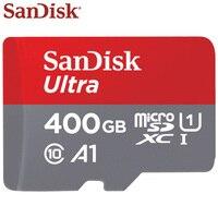 Original SanDisk TF Card 400GB SDXC Max Read Speed 90M/s Micro SD Card Class 10 UHS I A1 Flash Card Memory Microsd