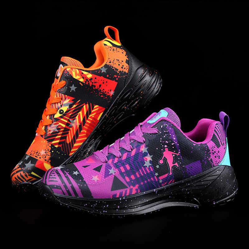 Yeni Trend Unisex basketbol ayakkabıları Gençler Eğitim Topu Ayakkabı Erkekler Kadınlar Koşu Sneakers Çocuk Vahşi Sokak Gelgit ayakkabı Büyük Boy 47