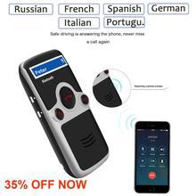 Siparnuo hands free для автомобиля солнечная мощность Bluetooth автомобильный комплект ЖК-дисплей телефонная книга Hands Free Bluetooth динамик в автомобиле Русский Испанский Французский голос