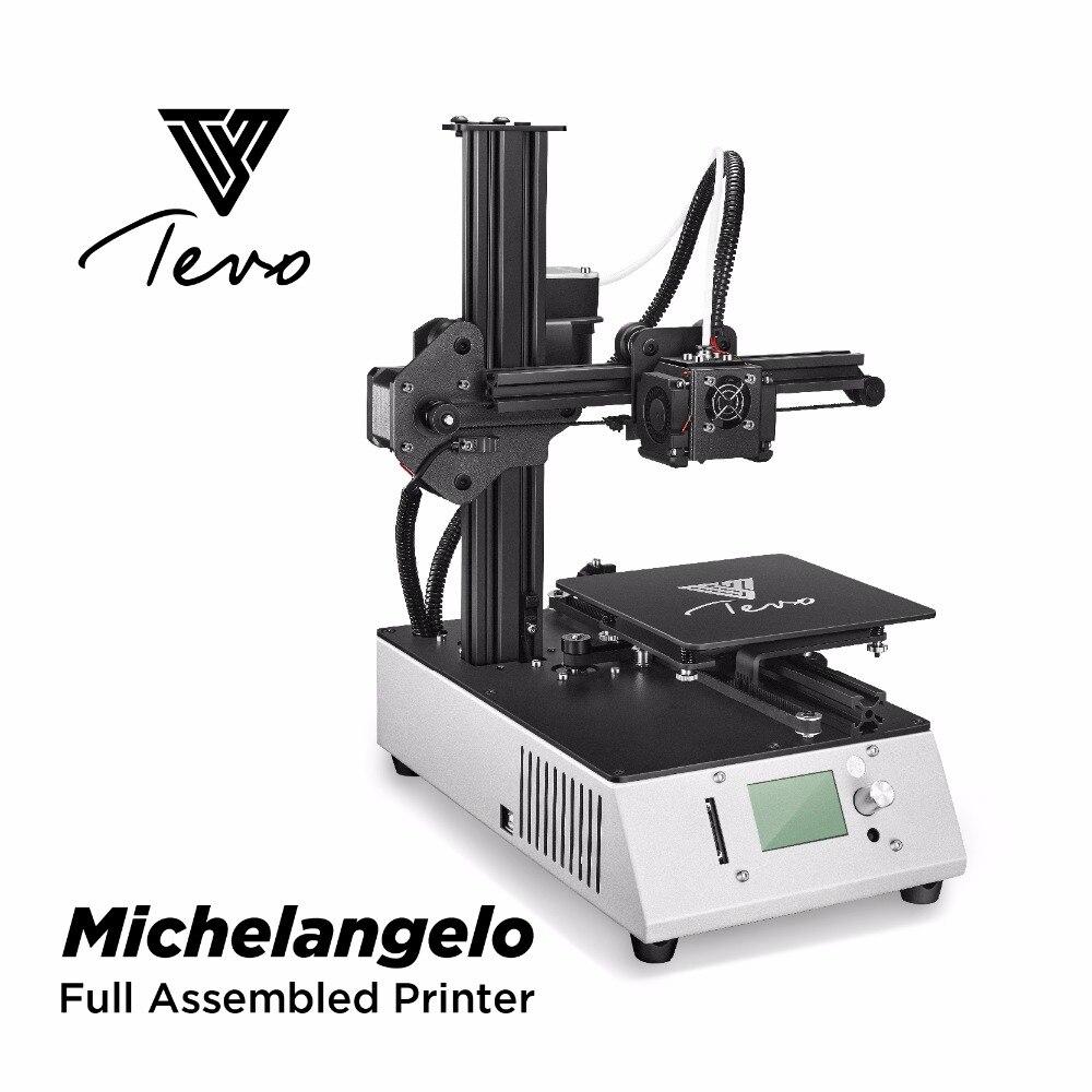 TEVO Michelangelo 3D Impresora totalmente montado 3D Impresora Kit ...