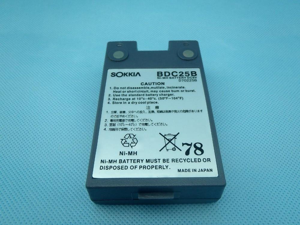 ÚJ SOKKIA BDC25B BDC-25 BDC25 BDC25A kompatibilis akkumulátor a SOKKIA Instrument összes állomásához