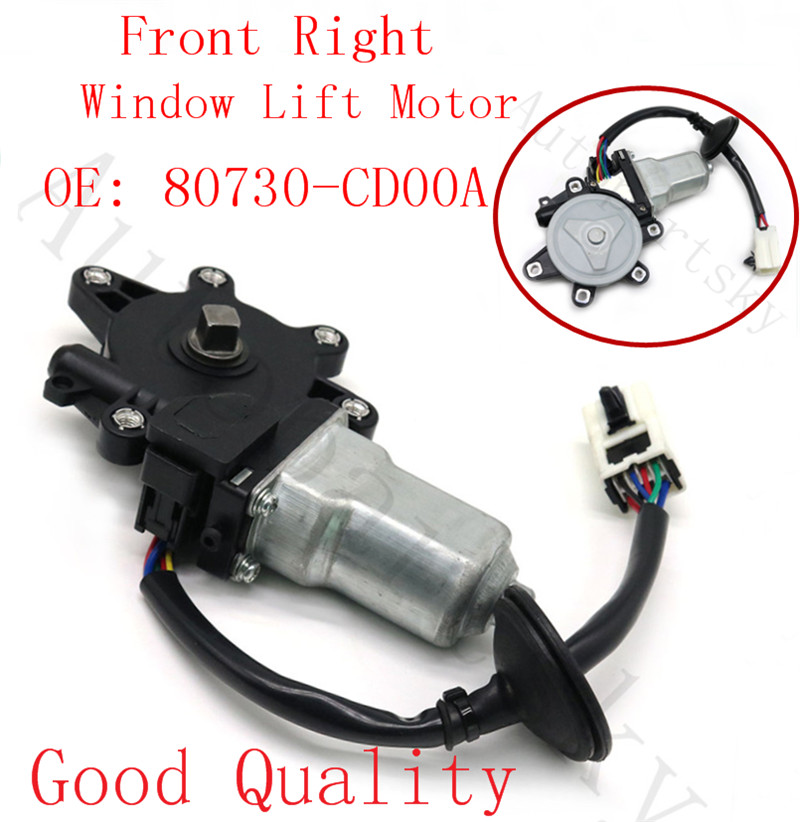 Front RIGHT Door Power Window Regulator without Motor for Nissan for Infiniti