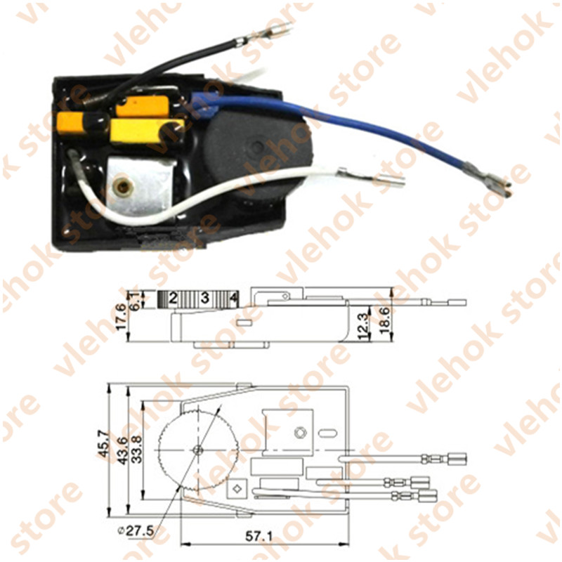 Speed Governor Regulator Replace For BOSCH DeWALT HITACHI MAKITA Angle Grinder Power Tools Accessories Electric Tool Part