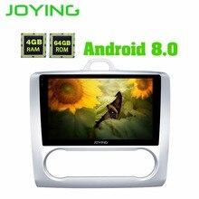 9 «Автомобильный мультимедийный плеер Android 8,0 4 ГБ 64 ГБ 2 din автомагнитола для Ford Focus 2012-2005 головное устройство Octa Core TPMS SWC/video outut