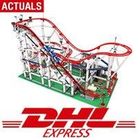 DHL в наличии серия фильмов Совместимость legoing 10261 игрушки роликовые модели Coaster набор строительных блоков Кирпичи Детские игрушки мальчик по