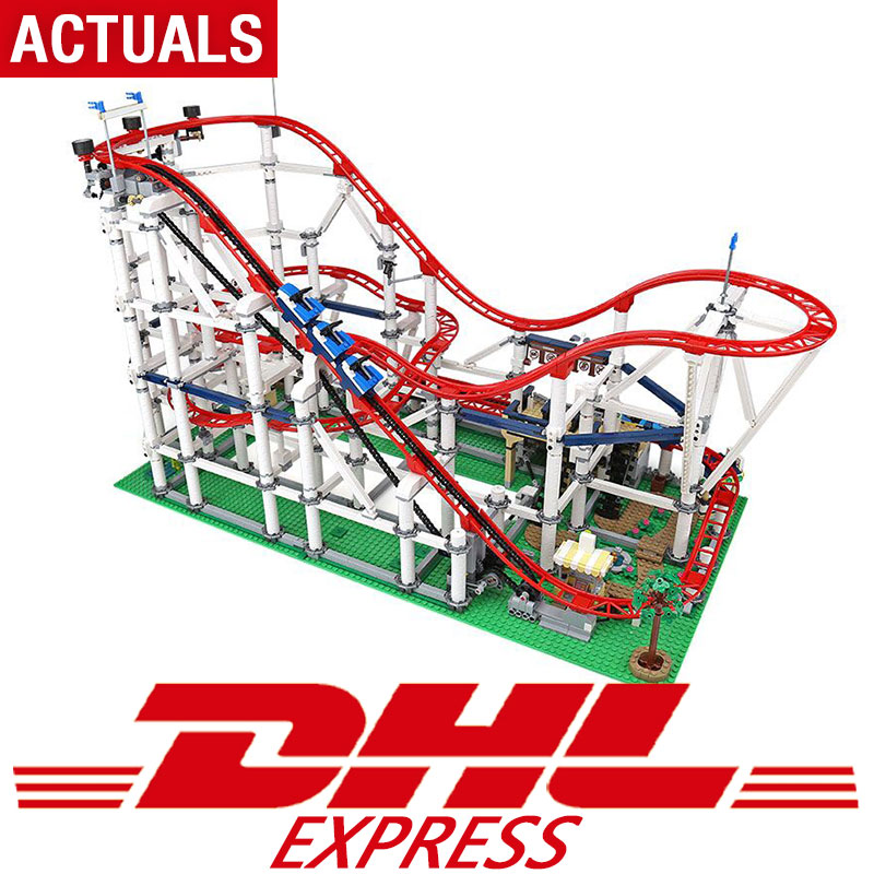 DHL In stock Movie Series The Compatible legoing 10261 Toys Roller Model Coaster Set Building Blocks