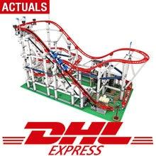 DHL в наличии серия фильмов Совместимость legoing 10261 игрушки роликовые модели Coaster набор строительных блоков Кирпичи Детские игрушки мальчик подарки
