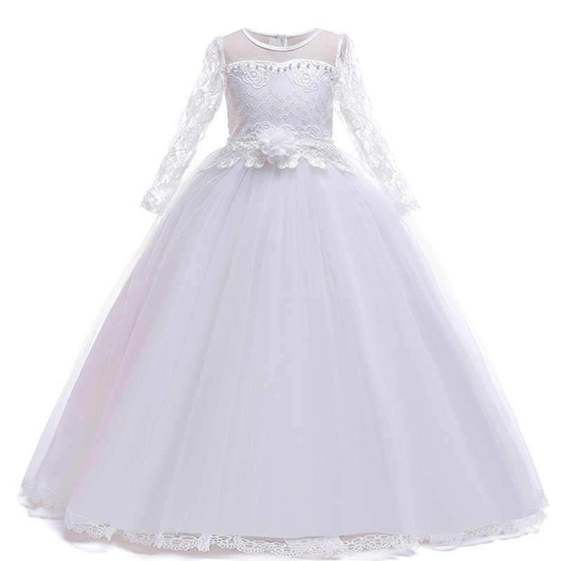 Kinderen Jurken Voor Meisjes Trouwjurk Elegante Prinses Gown Kinderen Avondfeest Jurk Voor Meisjes Kostuum 6 7 8 9 10 11 12 Jaar