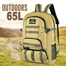 Outdoor Travel Backpack 65L Men Women Large Big Waterproof Sport Backpacks Male Female Hiking Camping Mountaineering Bag