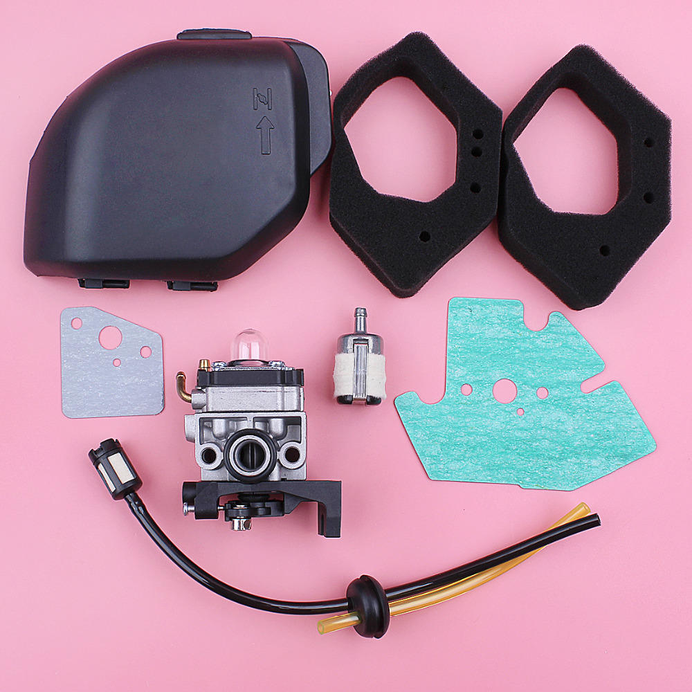 Carburetor Air Filter Cover Housing Assy For Honda <font><b>GX25</b></font> GX25NT HHT25S Air Fuel Filter Line Kit 4 Stroke Lawn Mower Engine Part image