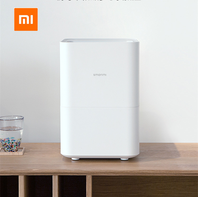 все цены на Xiaomi Original Smartmi Humidifier for home Air dampener UV Germicidal Aroma essential oil data Smart phone Mi home APP Control онлайн