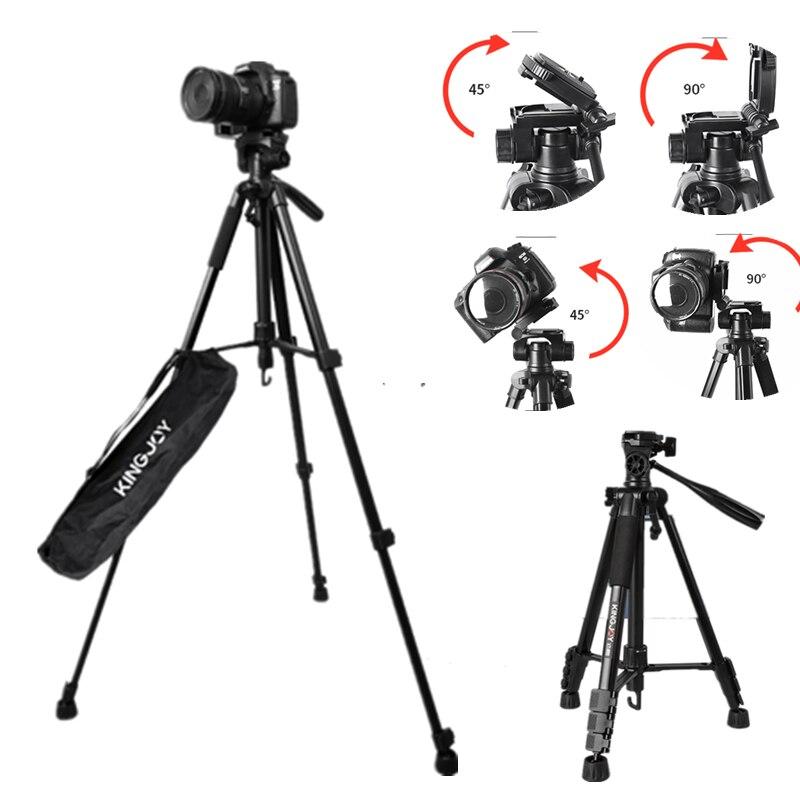 Trépied pour appareil photo reflex numérique et téléphone professionnel Tripe Mobile alliage multi-fonction Vlog trépied caméra télescope numérique Selfie
