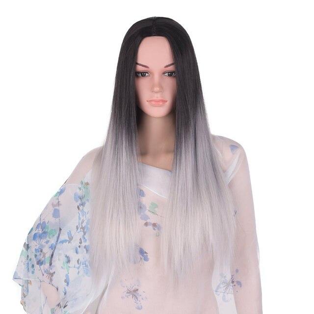 Long Straight Hair Full Head Wig 1