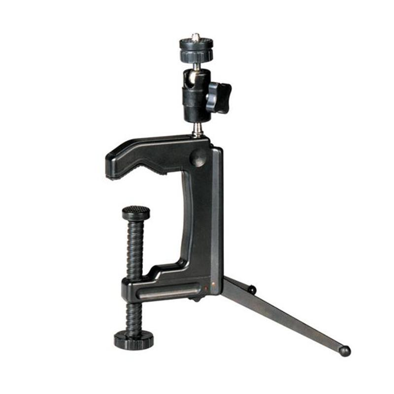 все цены на Mini Portable Camera Stand Camera Clamp Tripod 1/4 - 20 Screw Photography Table Tripod Clamp Camera Stand for DV SLR VCR Camera онлайн