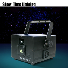 Show time 1watt RGB cartoon line Laser animal flower dance Scanner Light Home Party DJ Stage Lighting KTV laser