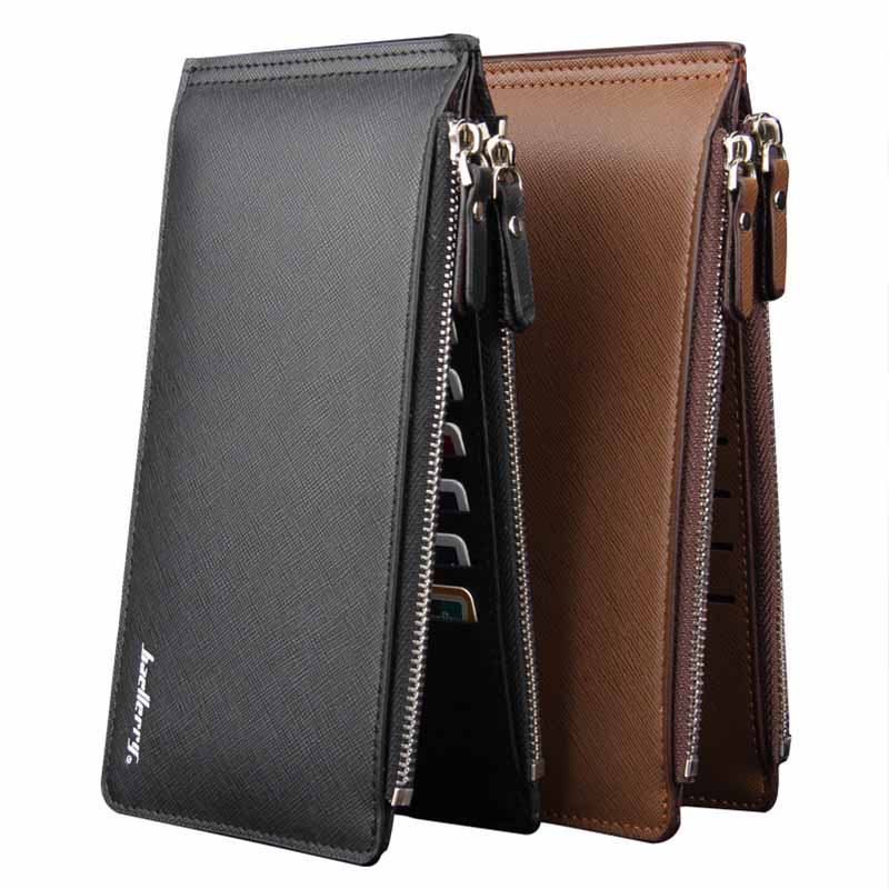 Men long Card Holder Multi Card Organizer Wallets Credit Card Holder Large Capacity Bank Card Sleeve Money Purse Bags LB