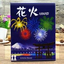 2-5 игроков HANABI настольная игра карты игры легко играть забавная игра вечерние/семьи