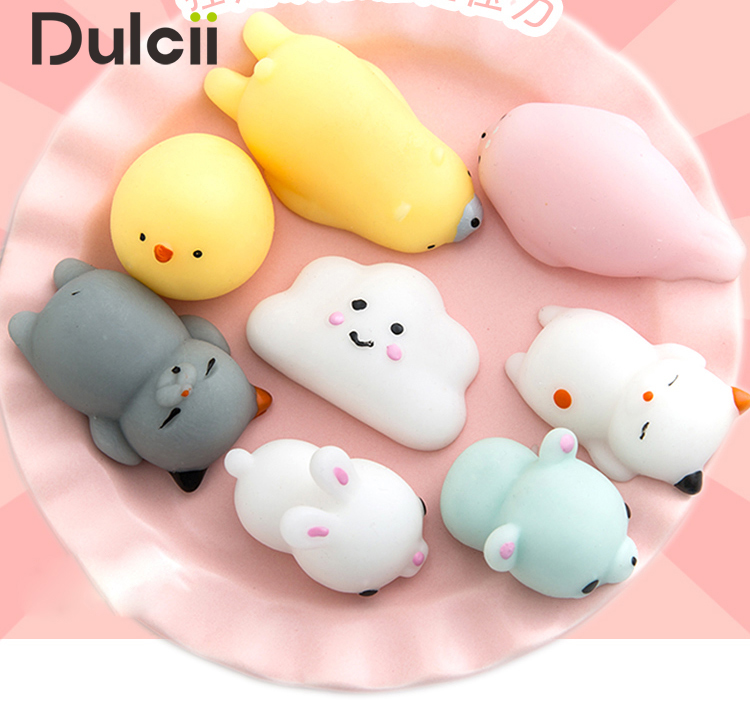 Aliexpress.com : Buy DULCII Squishy Cat Phone Accessories Kawaii Mini Soft Silicone Squishi ...