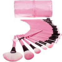32Pcs High Quality Makeup Brush Foundation Eye Liner Eye Shadow Eyebrow Eyelash Eyebrow Lipsticks Powder Make