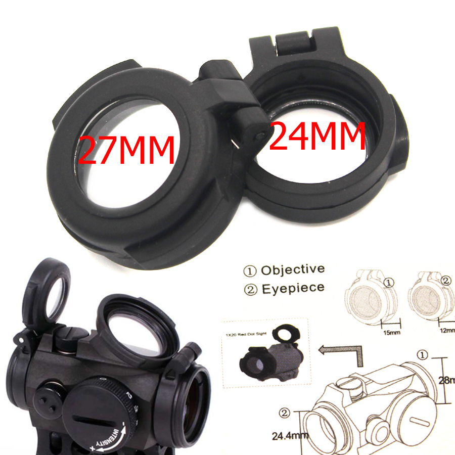 Scope Sight Fill Up Cover For Night Visi