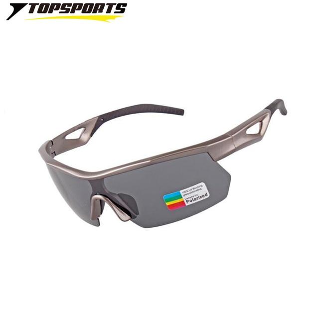 1d3ccdfafc TOPSPORT Professional outdoor sport Sunglasses cycling golf men bike  bicycle polarized UV400 mirror Glasses PC frame Eyewear