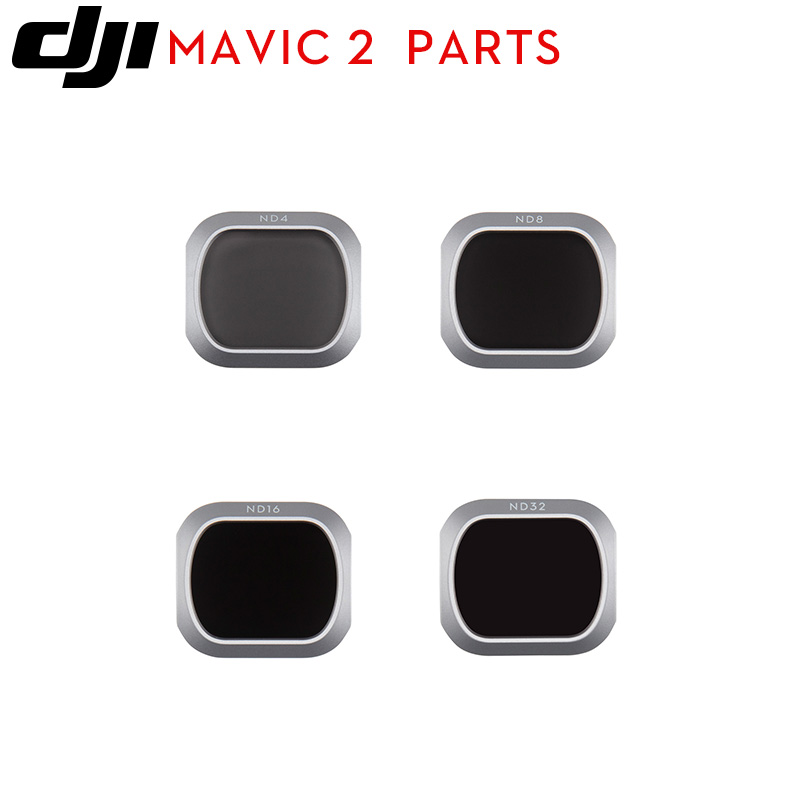 Original DJI Mavic 2 Pro ND Filters for DJI Mavic 2 Pro Fly More Combo drone DJI  Mavic  ND4/ND8/ND16/ND32ND Filter-in Body shell from Consumer Electronics    1