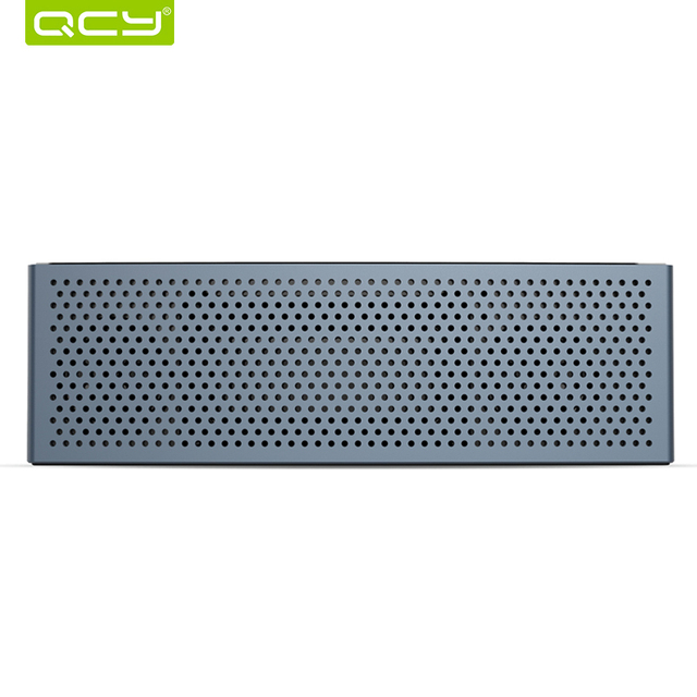 Qcy M5 мини-динамик bluetooth V4.1 беспроводной портативный 3D стерео звук системы MP3 аудио плеер с микрофоном 3.5 мм AUX TF карты