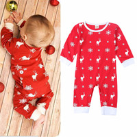 TZCZX 2020 New Children Baby Girls Boys Rompers Novelty Cartoon Printed Jumpsuit For 6 To 24