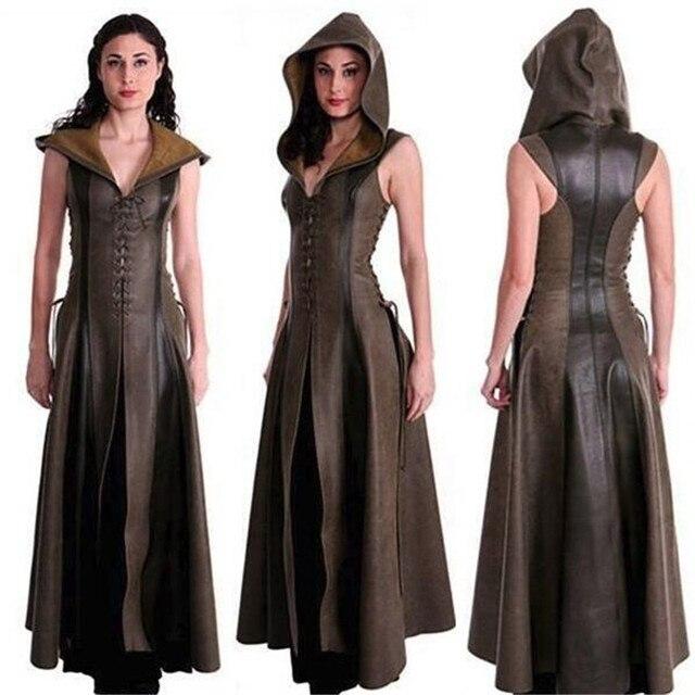 косплэй костюм средневековое Платье без рукавов 1