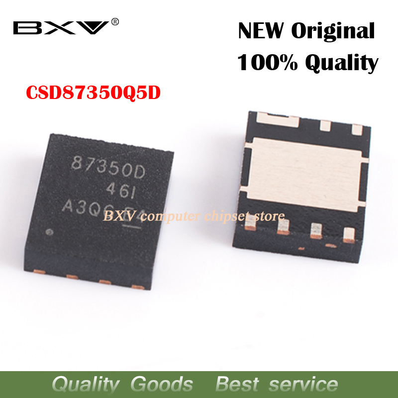 5pcs CSD87350Q5D 87350D QFN-8 New Original Free Shipping