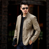 2019 Men Spring Summer Autumn Jackets and Coats Jaqueta Masculina Male Causal Fashion Large Size Zipper Jackets Hombre