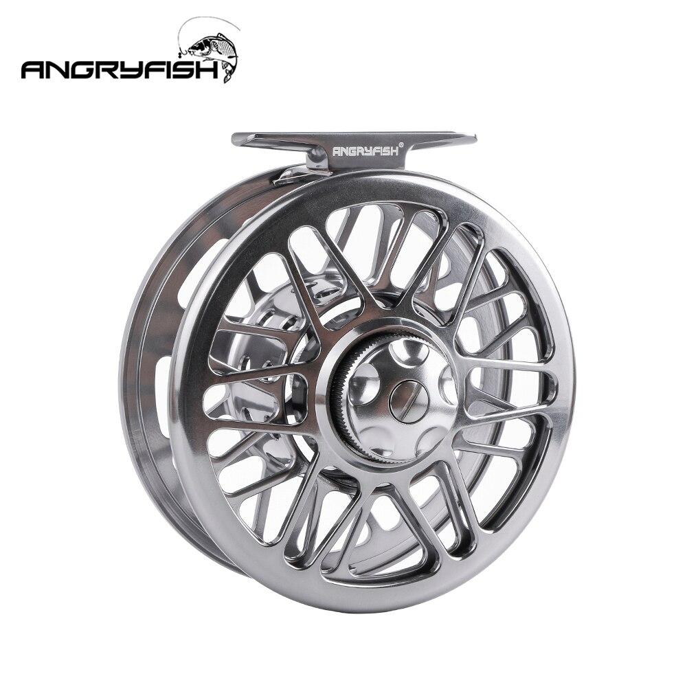 Angryfish 9/10, 5/6, 7/8, 3/4, Fly Рыбалка колеса Ultra-light 3BB 1:1 ЧПУ Ручка влево/вправо Fly катушка для озера речной поток рыбалка
