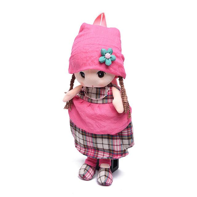 Olá kitty brinquedos hobbies mochila de pelúcia dolls bichos de pelúcia crianças mochila Minnie 1-quatro anos de escola saco mochila de pelúcia