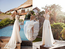 New Arrival Grey Strapless Venice lace long vestido de festa evening dress 2015 AEB111 social