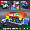 New LEPIN 16004 2232Pcs The Simpsons Action Model Building Block Bricks Compatible 71016 For Children Gift