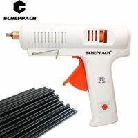 Crazy Power 150W Hot Melt Glue Gun Industrial Mini Guns Thermo Electric Gluegun 140 220 Degrees